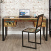 Urban Chic Computer Desk / Dressing Table - - Home Office by Baumhaus available from Harley & Lola - 2