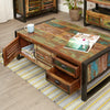 Urban Chic Four Drawer Large Coffee Table - - Living Room by Baumhaus available from Harley & Lola - 3