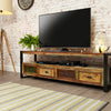 "Urban Chic Widescreen Television Cabinet (Up to 80"") - - Living Room by Baumhaus available from Harley & Lola - 2"