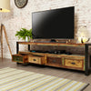 "Urban Chic Widescreen Television Cabinet (Up to 80"") - - Living Room by Baumhaus available from Harley & Lola - 4"
