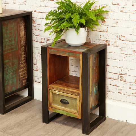 Urban Chic Lamp Table / Bedside Cabinet - - Living Room by Baumhaus available from Harley & Lola - 1