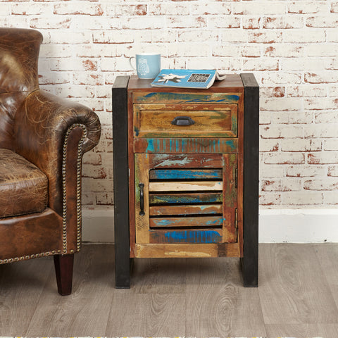 Urban Chic One Drawer Lamp Table - - Living Room by Baumhaus available from Harley & Lola - 1