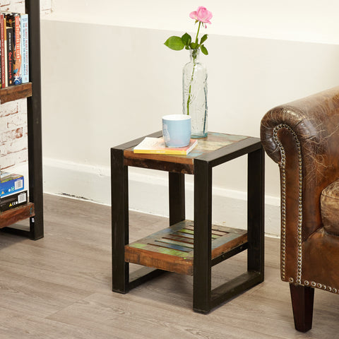 Urban Chic Low Lamp Table / Plant Stand - - Living Room by Baumhaus available from Harley & Lola - 1