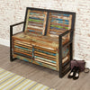Urban Chic Storage Monks Bench - - Living Room by Baumhaus available from Harley & Lola - 1