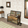Urban Chic Storage Monks Bench - - Living Room by Baumhaus available from Harley & Lola - 4