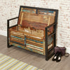 Urban Chic Storage Monks Bench - - Living Room by Baumhaus available from Harley & Lola - 5