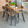 Baumhaus Coastal Chic Small Rectangular Dining Table
