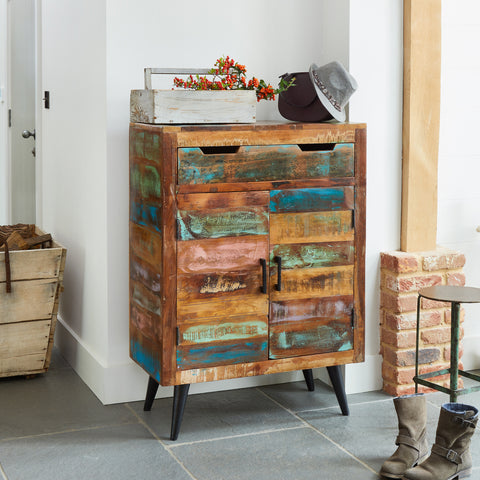 Baumhaus Coastal Chic Shoe Cupboard