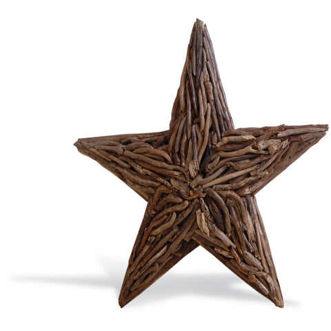 Wall Deco Driftwood Star Large - - Living Room by Bluebone available from Harley & Lola