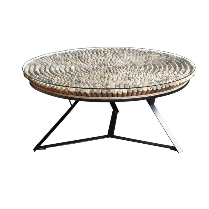 ManTeak Lush Round Coffee Table