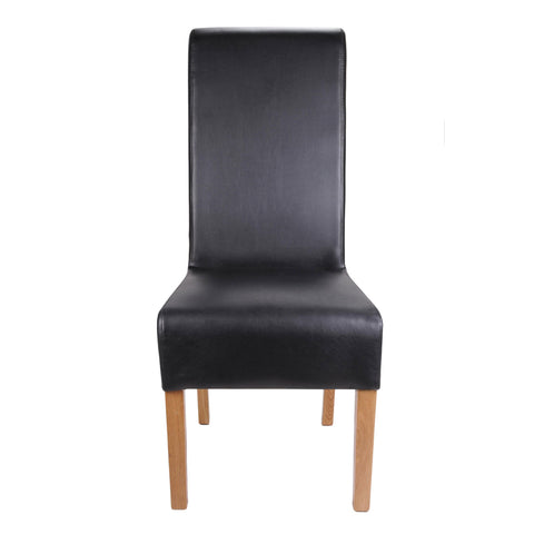 Krista Madras Leather Chair