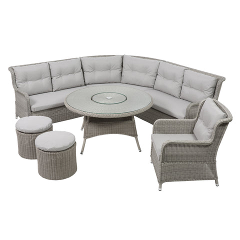 LIFE Outdoor Living King Corner Sofa Set