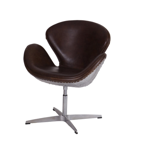 Explorer Leather & Aluminium Chair