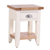 Rustic Bedside Table -Linen - Living Room by Besp-Oak available from Harley & Lola - 4