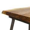 Hoxton Mango Wood Lamp Table with Floating base