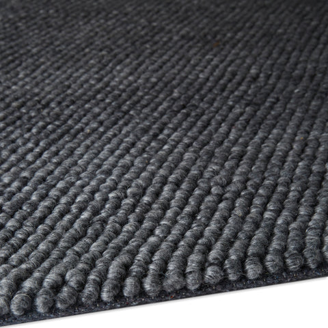 Plantation Rug Co. Loopy Charcoal