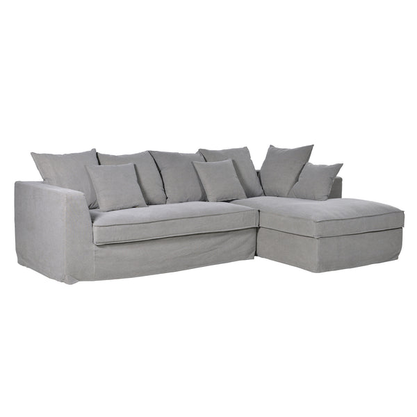 Grey Corner Sofa by Harley and Lola