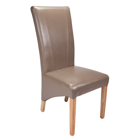 Marseille Madras Leather Chair