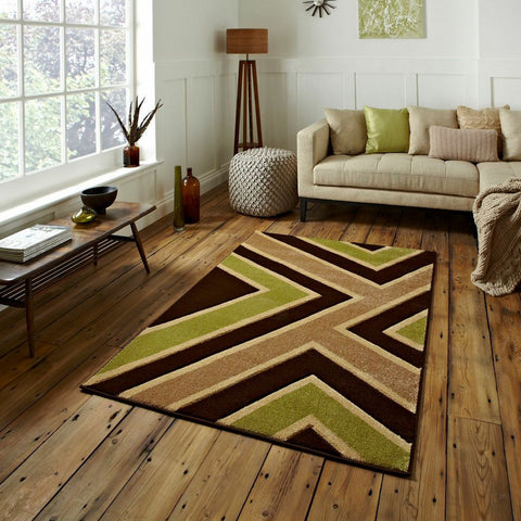 Matrix Brown/Green Rug