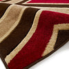 Matrix Brown/Red Rug - - Rugs by Think Rugs available from Harley & Lola - 3