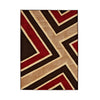 Matrix Brown/Red Rug - - Rugs by Think Rugs available from Harley & Lola - 1