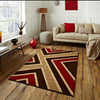 Matrix Brown/Red Rug - - Rugs by Think Rugs available from Harley & Lola - 2