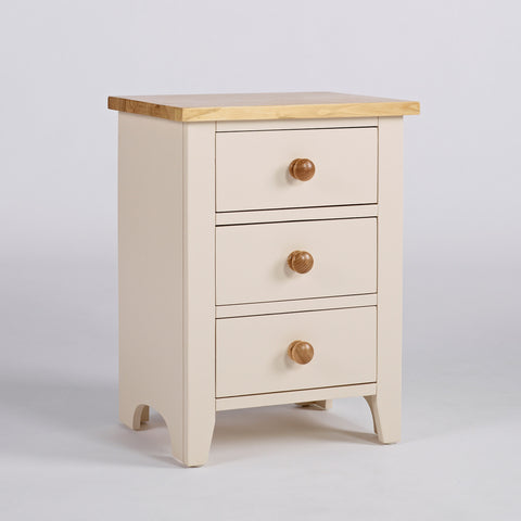 Camden 3 Drawer Nightstand
