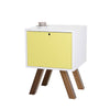 Lova Side Table -White / Yellow - Living Room by Sno available from Harley & Lola - 3