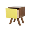 Lova Side Table -Wood / Yellow - Living Room by Sno available from Harley & Lola - 5