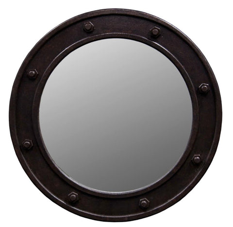 Hoxton Round Porthole Mirror 100cm by Harley and Lola