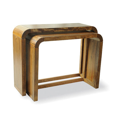 Lucy Mango Set of Console Tables -Lucy Mango Set of 2 Consoles - Living Room by Bluebone available from Harley & Lola