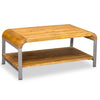 Lucy Lounge Coffee Table with Gunmetal Legs