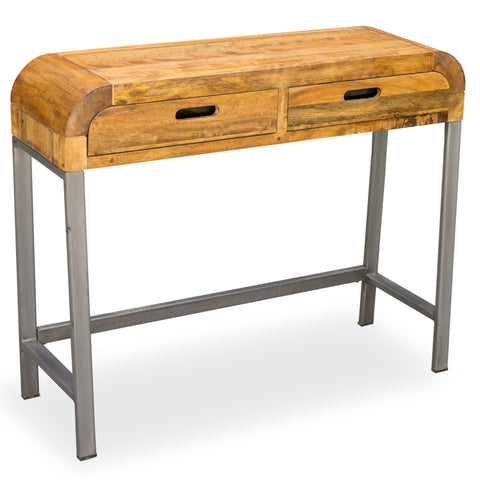 Lucy Lounge Console Table with Gunmetal Legs