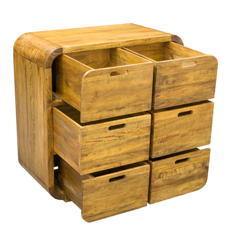 Lucy Lounge 6 Drawer Chest