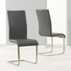Malibu Dining Chairs (Pair) -Grey - Living Room by MHarris available from Harley & Lola - 1