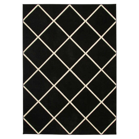 Think Rugs Matrix MT35 Black/White