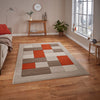 Think Rugs Matrix MT04 Beige/Terra