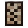 Think Rugs Matrix MT04 Brown/Beige