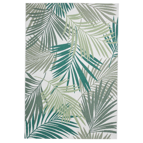 Think Rugs Miami 19433 Green/Light Beige