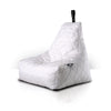 Mighty B-Bag Quilted Polyester -White - Bean Bags by ELOUNGE available from Harley & Lola - 11