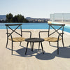Milos Rattan & Aluminium 2 Seater Set - - Garden and Conservatory by Cozy Bay available from Harley & Lola - 1