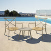 Milos Rattan & Aluminium 2 Seater Set - - Garden and Conservatory by Cozy Bay available from Harley & Lola - 4