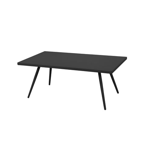 Milos Aluminium Coffee Table -Black - Garden and Conservatory by Cozy Bay available from Harley & Lola - 1