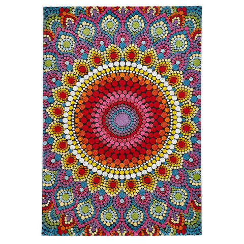 Think Rugs Mosaic 22841 Multi