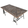Saxo Recycled Elm Dining Table - - Furniture by Coach House available from Harley & Lola - 2