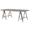 Saxo Recycled Elm Dining Table -Saxo Recycled Elm Dining Table - Furniture by Coach House available from Harley & Lola - 1