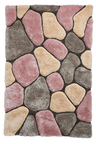 Think Rugs Noble House NH5858 Grey/Rose