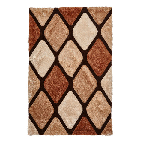 Think Rugs Noble House Beige/Brown