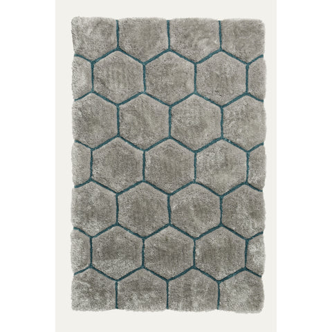 Think Rugs Noble House NH30782 Grey/Blue