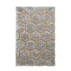 Think Rugs Noble House NH30782 Grey/Yellow